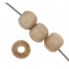 Wooden Bead Round 4mm Natural Lacquered